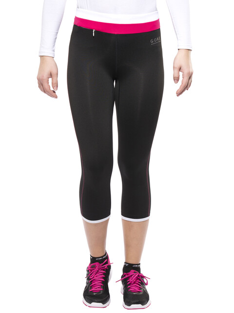 GORE RUNNING WEAR SUNLIGHT 3.0 3/4 Tights Lady black/white